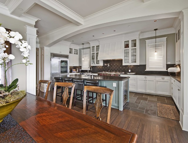 Mercer Island Waterfront Estate traditional-kitchen