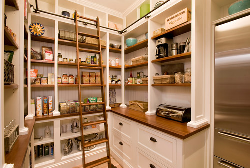 the pros and cons of walk in vs cabinet pantries - Kitchen Pantries