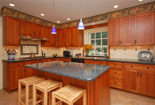 Merion Station Home eclectic-kitchen