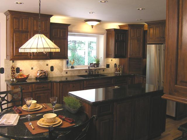 Family Kitchen Sink Window - Transitional - Kitchen - sacramento ...