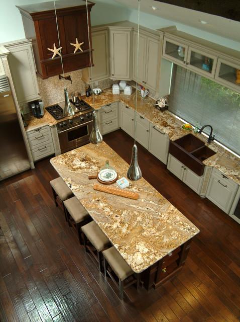 Merritt Island Coastal Lodge Transitional Kitchen Orlando By East Coa