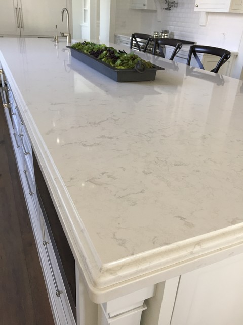 Mesa White House. Full Home Countertops and Glass - Transitional - Kitchen - Phoenix - by G3 ...