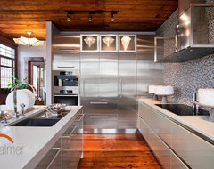 Metal Allure contemporary-kitchen