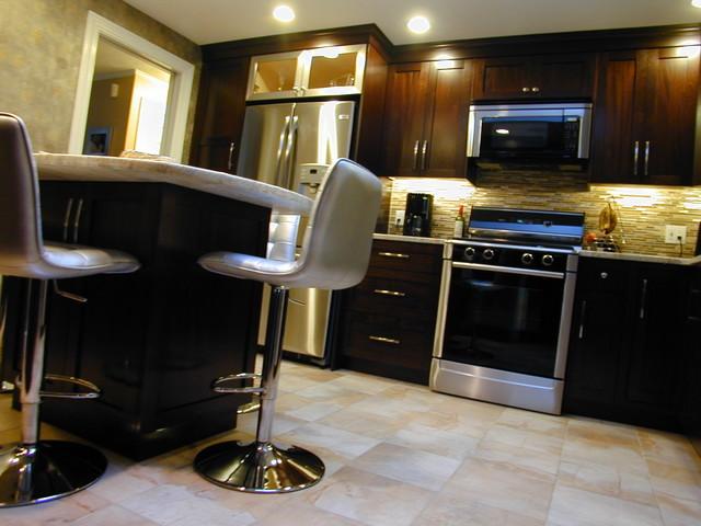 Metallic Kinda Mood contemporary-kitchen
