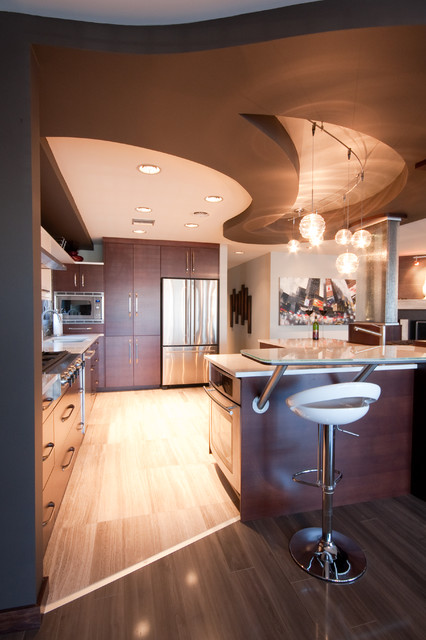 Metric Design contemporary kitchen