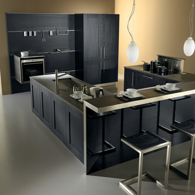 Metropolis contemporary-kitchen