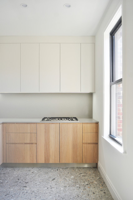 Metropolitan Ave Kitchen Contemporary Kitchen New York By Atelier Armbruster Houzz Ie