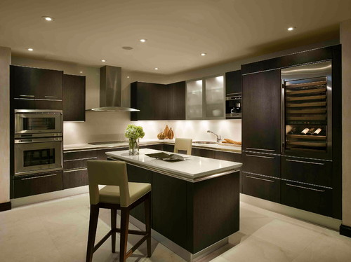 FISHER ISLAND modern kitchen