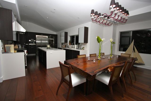 Miami Beach Resedince Transformed modern-kitchen