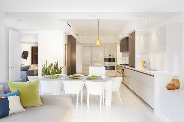 Miami Interior Designers   Architectural Volume By DKOR Interiors  Contemporary Kitchen