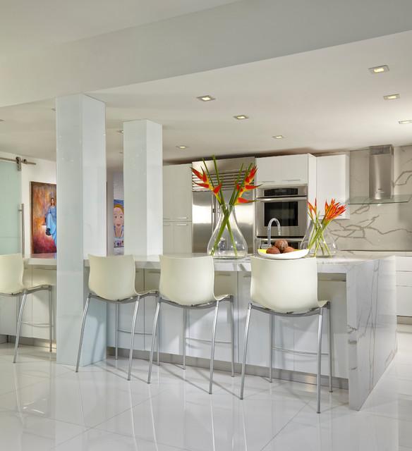 Kitchen Modern Contemporary Interior Design: Miami Interior Designers