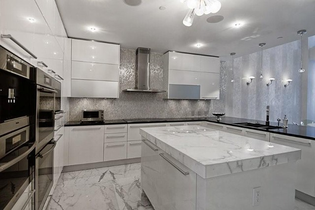 Miami Luxury Condo Contemporary Kitchen Miami By