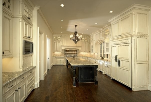 Traditional kitchen dallas by michael molthan luxury homes