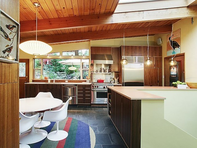 Michael 39 s house modern kitchen seattle by kerf design for Kitchen cabinets seattle