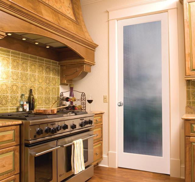 Microcross Reed Decorative Gl Interior Door