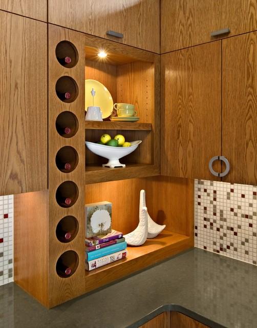 Mid-Century Butler's Pantry - Modern - Kitchen - minneapolis - by ...