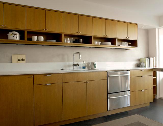 Mid century flat remodel - Mid century kitchen cabinets ...