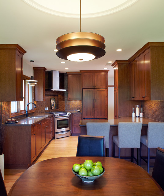 Minnesota Kitchen Cabinets: Mid-Century Kitchen And Dining