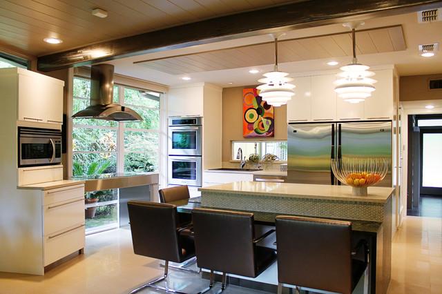 Mid Century Kitchen Remodel Modern Kitchen Dallas