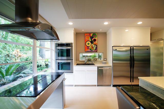 Mid Century Kitchen Remodel Modern Kitchen Dallas By Studio B Designs