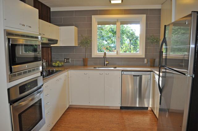 Mid Century Kitchen Remodelmodern Portland