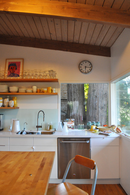 Kitchen Bath Remodel Gives Mid Century Home Modern Updates: Mid-century Kitchen Update