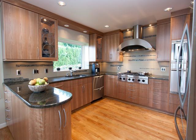 Mid-Century Living contemporary-kitchen