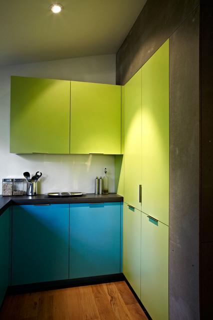 Mid-Century Mod re-do - Midcentury - Kitchen - DC Metro - by KUBE architecture