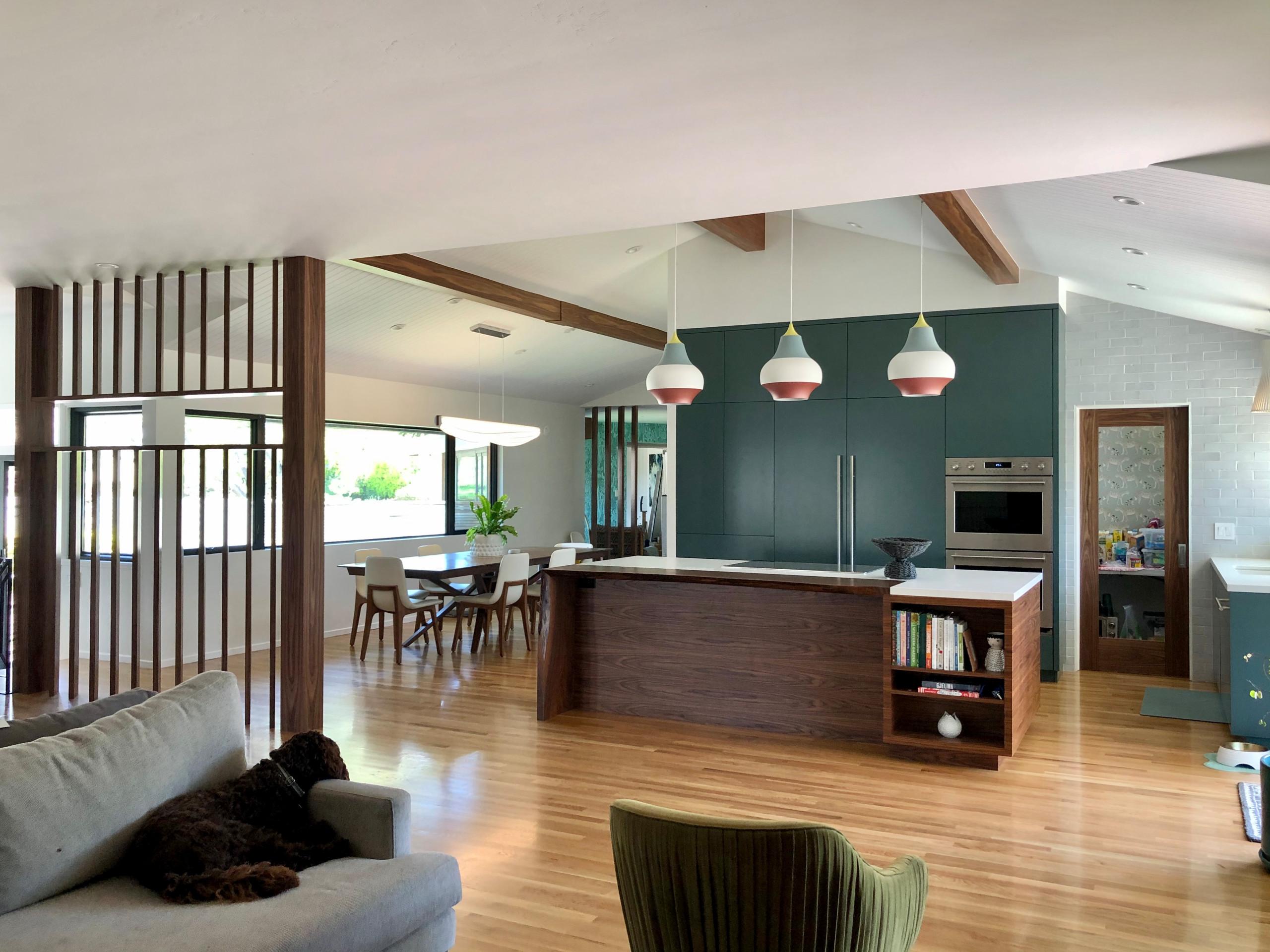 75 Beautiful Mid Century Modern Kitchen Pictures Ideas July 2021 Houzz