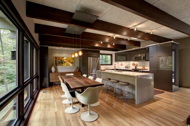 Mid Century Modern Interior Midcentury Kitchen  : midcentury kitchen from www.houzz.com size 640 x 426 jpeg 102kB