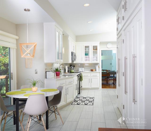 mid century modern kitchen and bath remodel midcentury