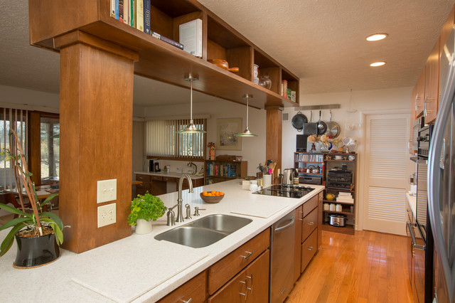 Mid Century Modern Kitchen gets a Facelift - Midcentury ...