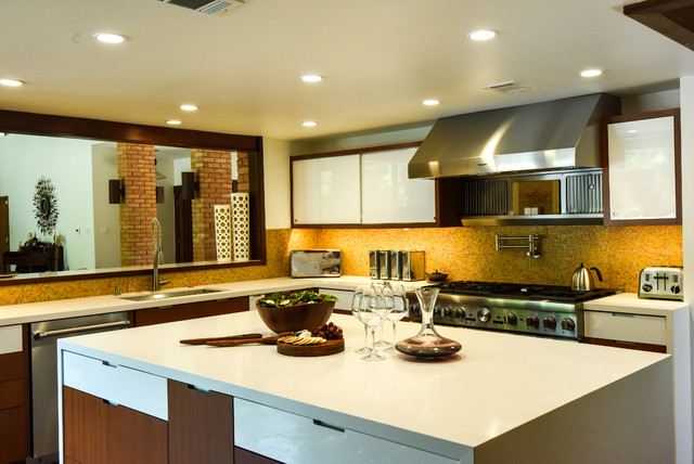 Mid Century Modern Kitchen Midcentury Kitchen Houston By My