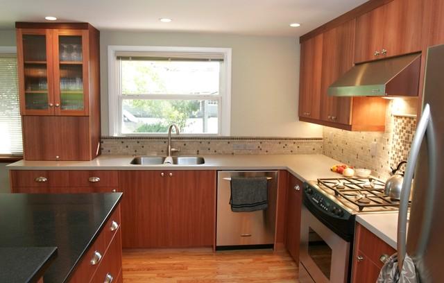 Mid-Century Modern Kitchen Redefined - Modern - Kitchen - other metro - by Matt White, Neil ...