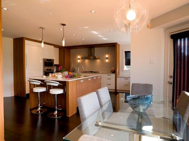 Mid century modern kitchen renovation contemporary for Kitchen designs ottawa