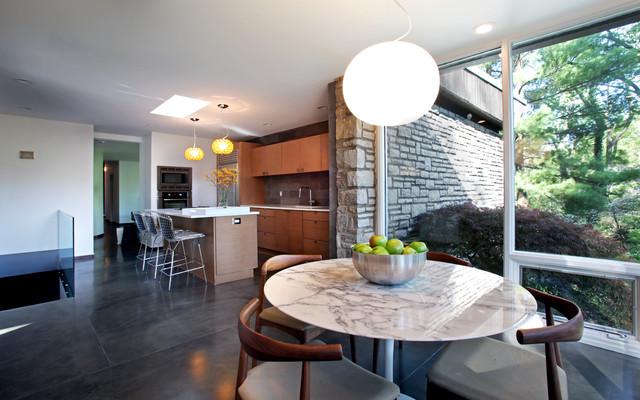 Mid Century Modern Masterpiece Modern Kitchen St