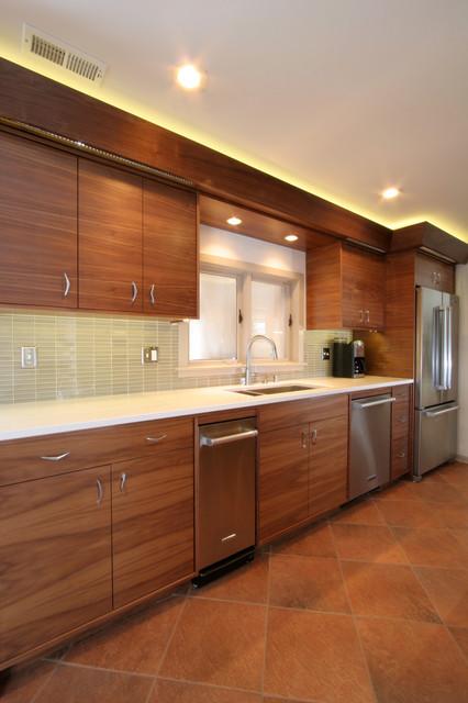 Mid Century Modern Ranch Midcentury Kitchen Milwaukee By Froze Design Build Inc