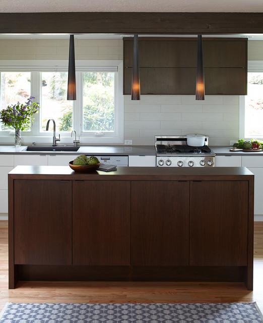 Mid Century Modern Ranch Midcentury Kitchen Portland By Mosaik Design Remodeling