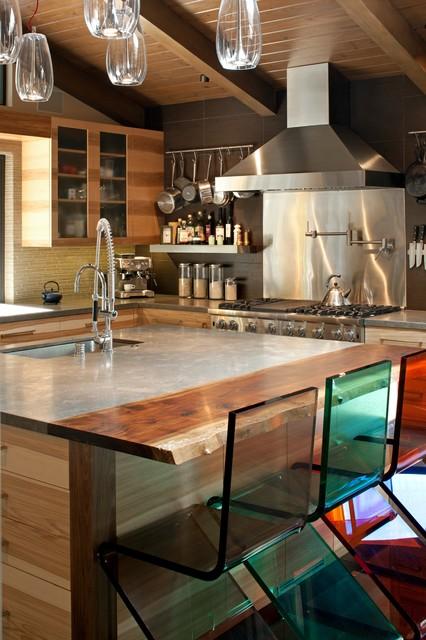 Mid Century Modern Ranch Midcentury Kitchen Los