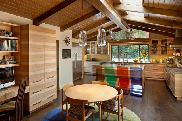 Mid century modern ranch midcentury kitchen los - Modern ranch home interior design ...