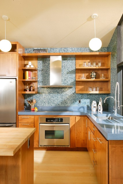 Mid-Century Modern Revival Kitchen by Shasta Smith modern kitchen