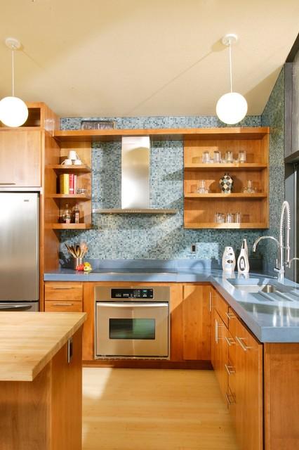 Mid-Century Modern Revival Kitchen by Shasta Smith midcentury-kitchen