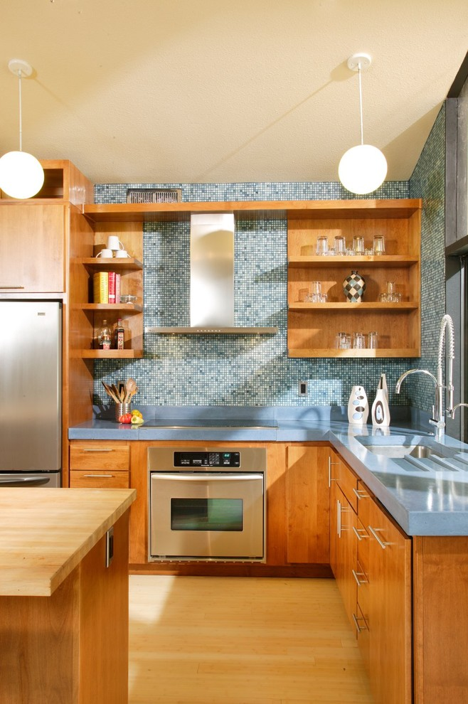 Mid-Century Modern Revival Kitchen by Shasta Smith ...