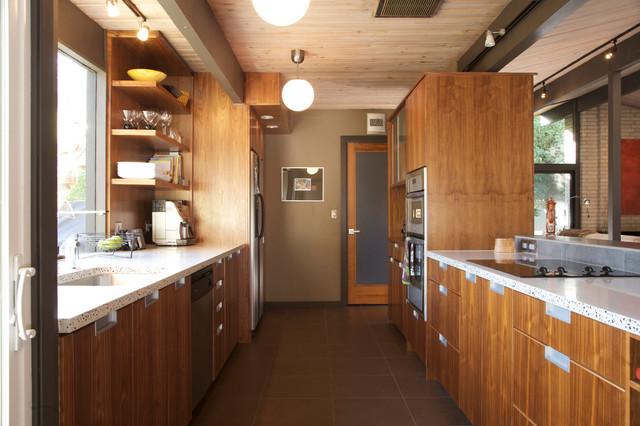 Mid Century Modern Rummer Modern Kitchen Portland