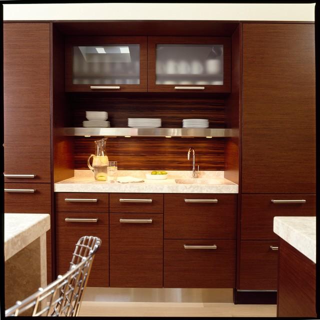 Contemporary Kitchen Bar: Wetbar - Modern - Kitchen