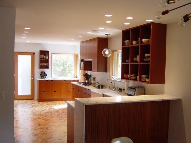 Mid-Century Modern Whole House Project traditional kitchen
