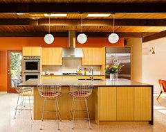 Mid Century Portland midcentury-kitchen