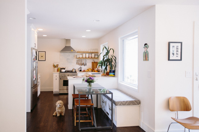MId Century Ranch - Transitional - Kitchen - nashville - by Crowell + Co. Interiors