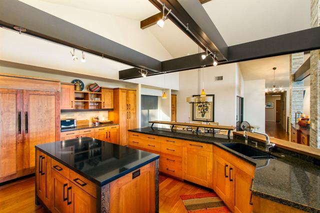 Mid Century Remodel Asian Kitchen Sacramento By