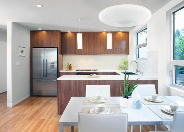 Mid-Century Remodel modern-kitchen